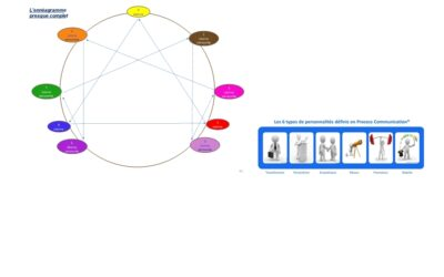 L'ennéagramme et la Process Com complémentaires au travail